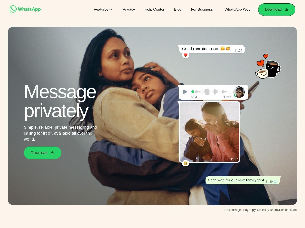 WhatsApp Business-app