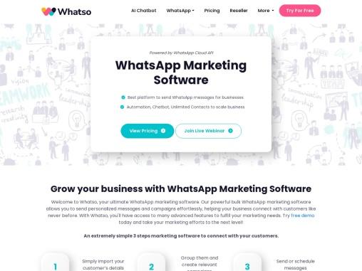WhatsApp Marketing Software – Bulk WhatsApp Sender 2021   Free Trial