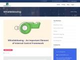 Whistleblowing – An Important Element of Internal Control Framework