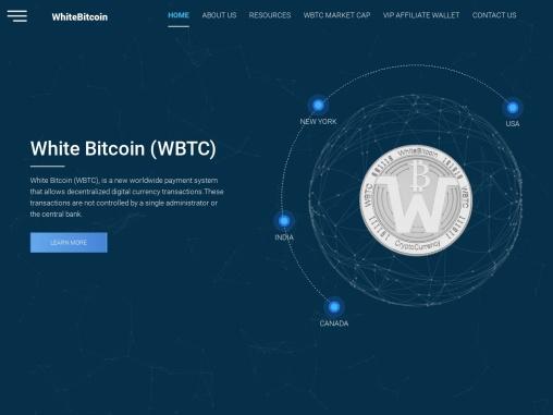 White Bitcoin Cryptocurrency – WBTC Cryptocurrency – Best WhiteBitcoin (WBTC) Cryptocurrency Affilia