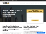 White Label Google Ads Campaign Management Services
