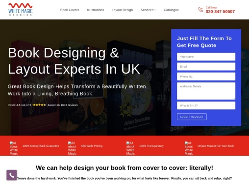 Creative Book Cover Layouts Designs UK