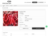 Dry Red Chilli Supplier in India
