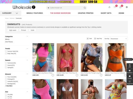 cheap wholesale swimwear for women