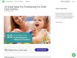 10 Great Ideas For Fundraising For Child Care Centres