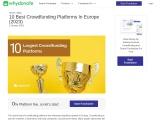 10 Best Crowdfunding Platforms In Europe