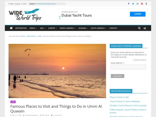 Best Things to do in Umm Al Quwain
