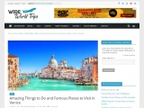 Amazing Tourist Attractions to Visit in Venice