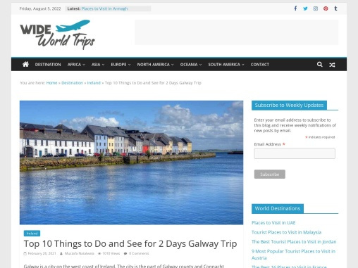Best Places To Visit in Galway