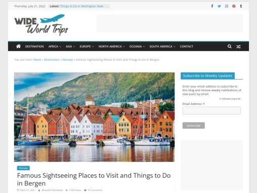 Amazing Things to See in Bergen