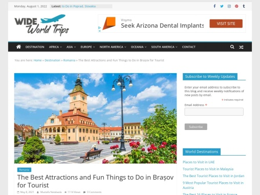 Top Tourist Places to Visit in Brasov