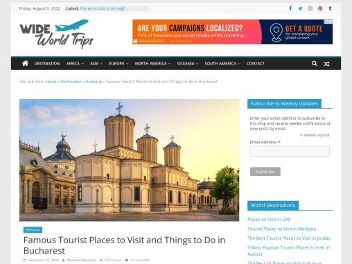 Best Things to see in Bucharest