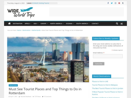 Best Things to Do in Rotterdam