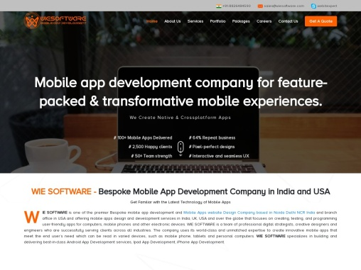Mobile App Design & Development Company in India