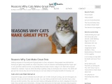 Reasons Why Cats Make Great Pets