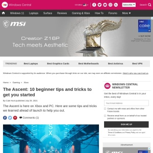 The Ascent: 10 beginner tips and tricks to get you started | Windows Central