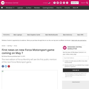 First news on new Forza Motorsport game coming on May 7 | Windows Central