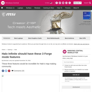 Halo Infinite should have these 3 Forge mode features | Windows Central