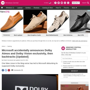 Microsoft accidentally announces Dolby Atmos and Dolby Vision exclusivity, then backtracks [Updated] | Windows Central