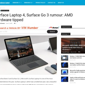 Surface Laptop 4, Surface Go 3 rumour: AMD hardware tipped
