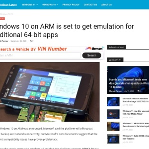 Windows 10 on ARM is set to get emulation for traditional 64-bit apps