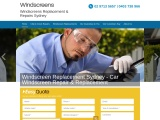 Professional Windscreen Replacement Sydney