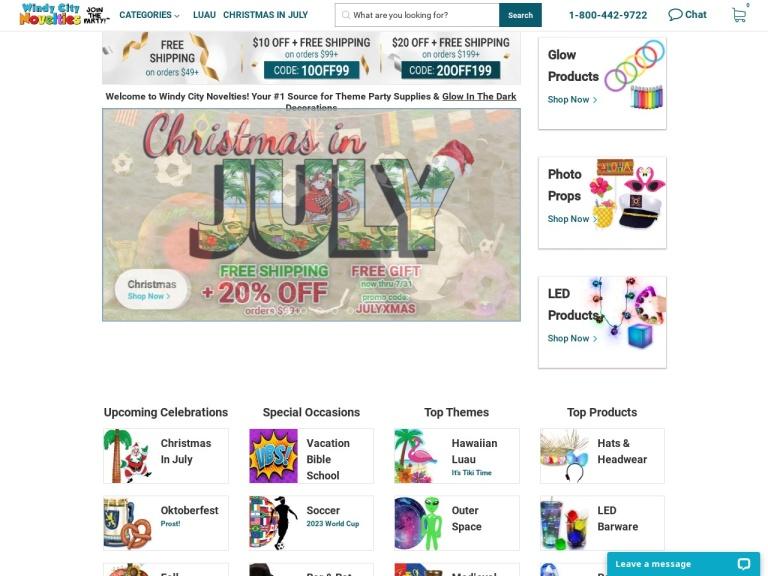 Windy City Novelties screenshot