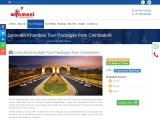 Lonavala Khandala Tour Packages from Coimbatore