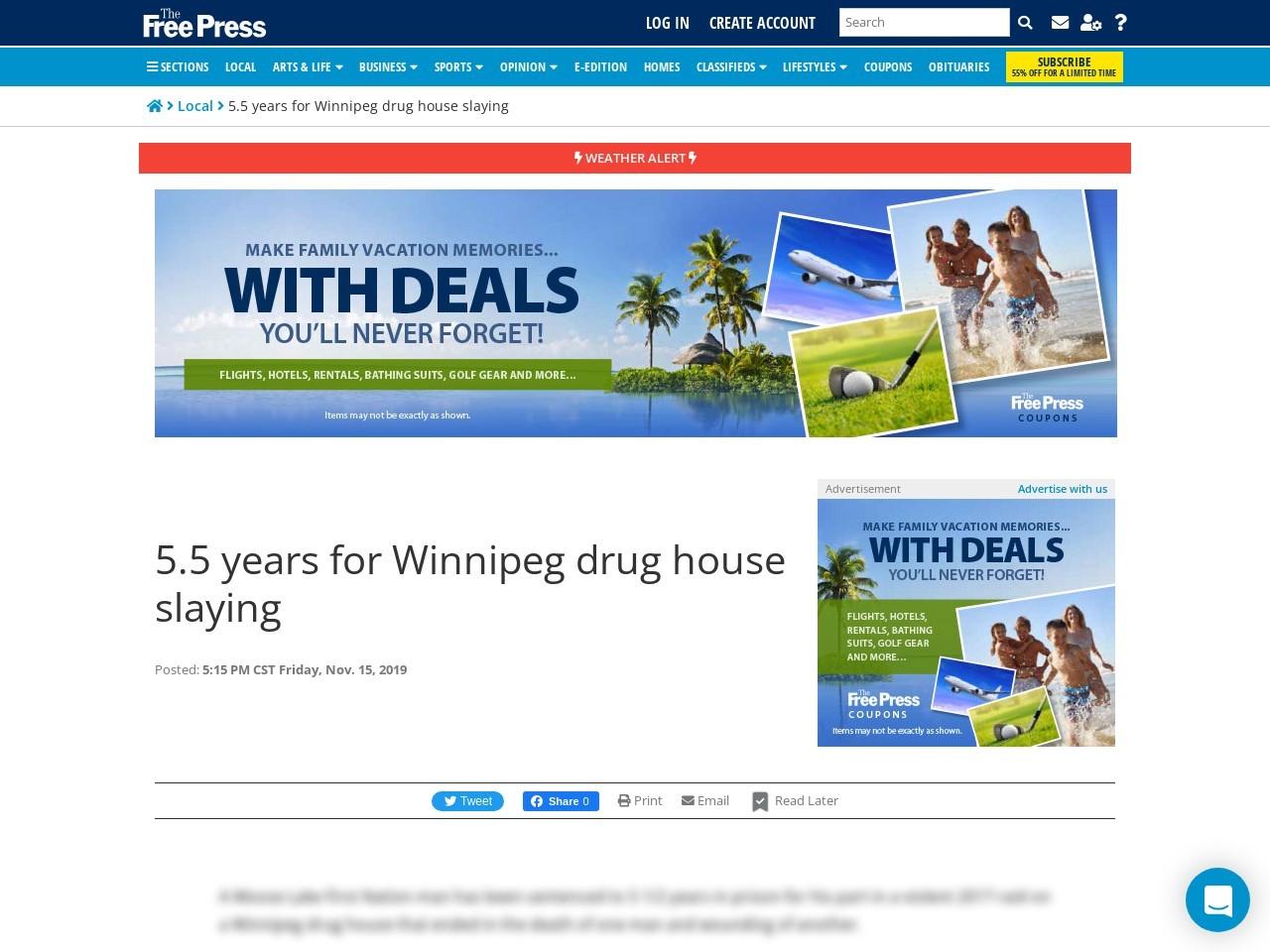5.5 years for Winnipeg drug house slaying