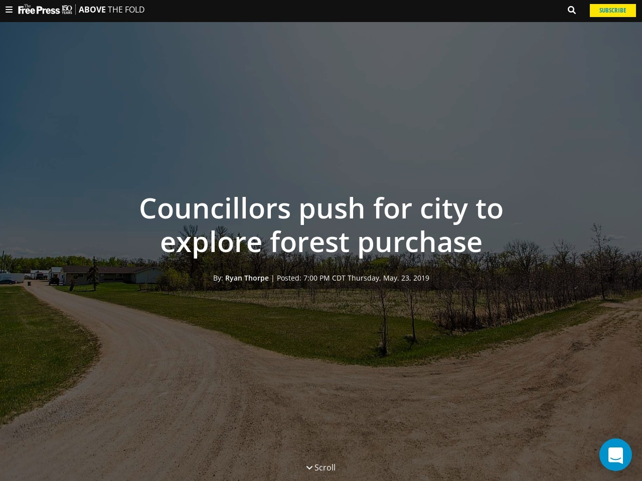 Councillors push for city to explore forest purchase