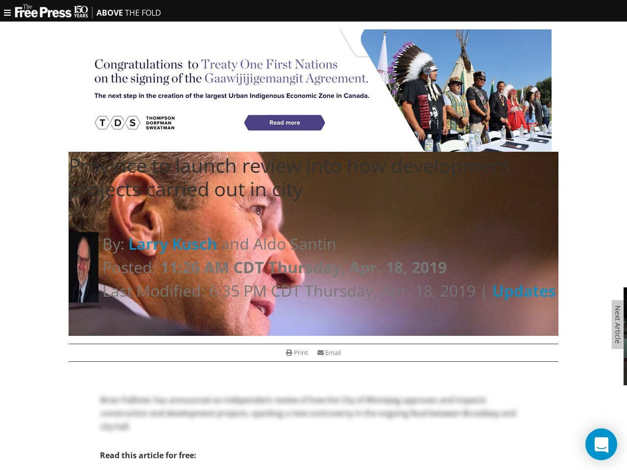 Province to launch review into how development projects carried out in city