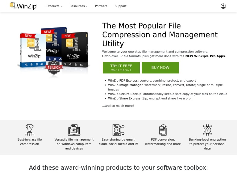 WinZip Coupon Codes screenshot