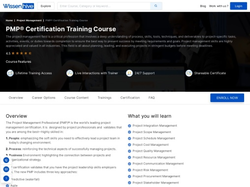 PMP® Certification | Online Training Course