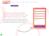 Wisdom IT is the best website design company in Dubai.