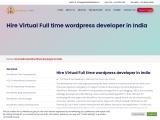 Hire dedicated WordPress developer in India
