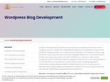 WordPress blog development company in India