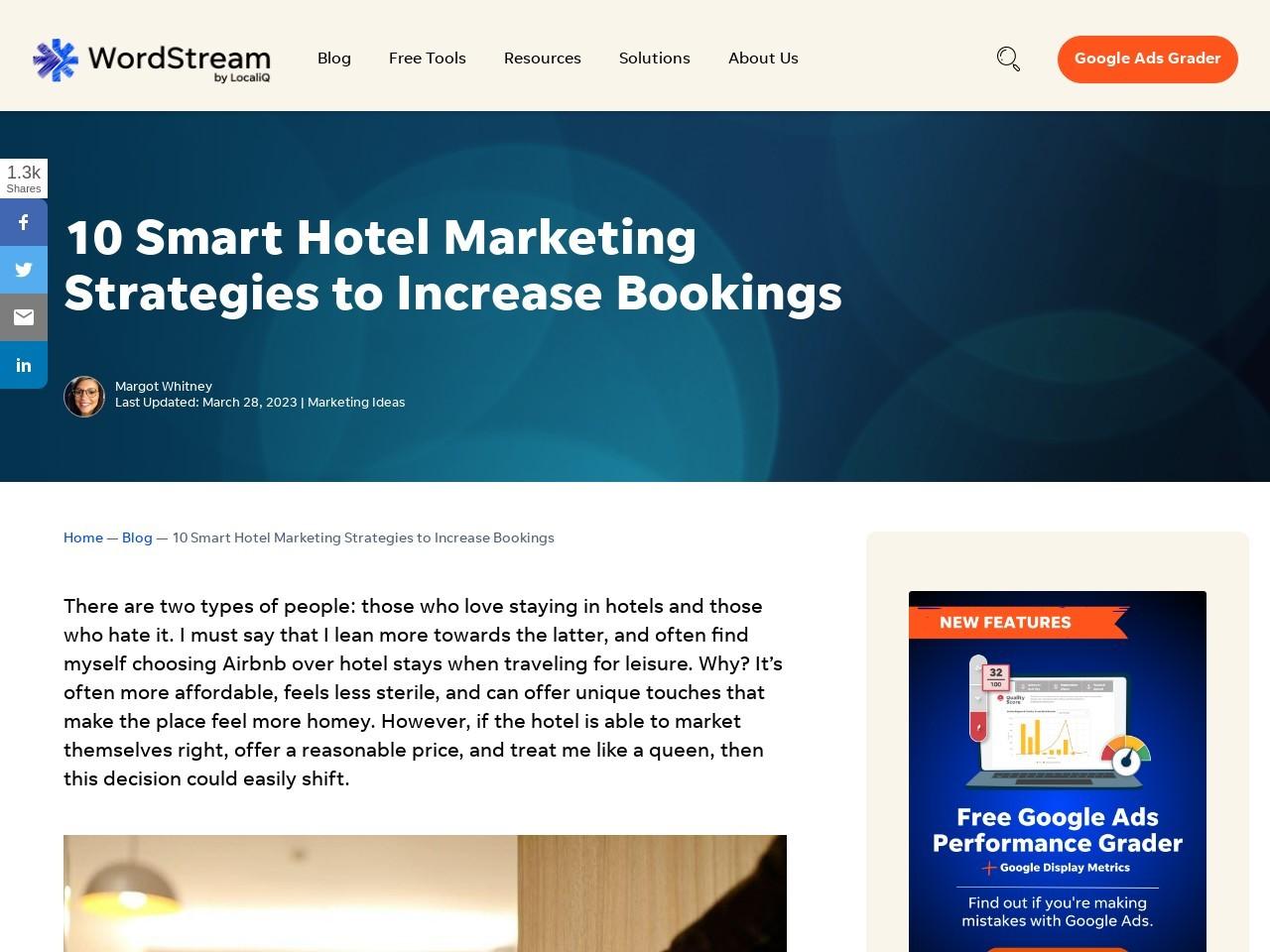 10 Smart Hotel Marketing Strategies to Increase Bookings