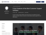 5 Key Features of the Best Customer Support Software