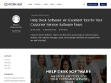 Help Desk Software: An Excellent Tool for Your Customer Service Software Team