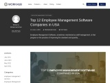 Top 12 Employee Management Software Companies in USA