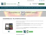 DS3820PIMB1A1B – PNL INTERFACE MODULE in Stock Buy | Repair | Exchange from World of Controls.