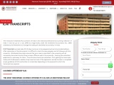 Procure Transcripts from Institute of Chartered Accountants (ICAI)?