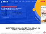 Online Food Delivery Aggregator Services | Scrape Food delivery menu competitive