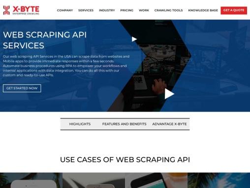 Real-Time Web Scraping API Services Provider USA, Australia