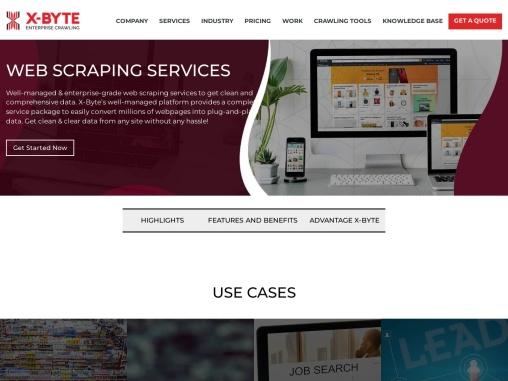 Web Scraping Services | X-Byte Enterprise Crawling