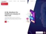 Top AI ML Solutions for healthcare industry in New York, USA | X-Byte Enterprise solutions