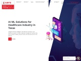 Top AI ML Solutions for healthcare industry in Texas, USA | X-Byte Enterprise solutions