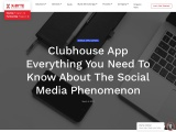 Social media mobile app development like clubhouse company in USA| X-Byte Enterprise solutions