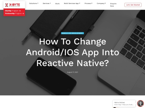 How To Transform Native Android & IOS App To React-Native?