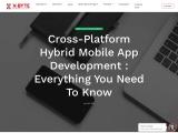 Cross-Platform Hybrid Mobile App Development